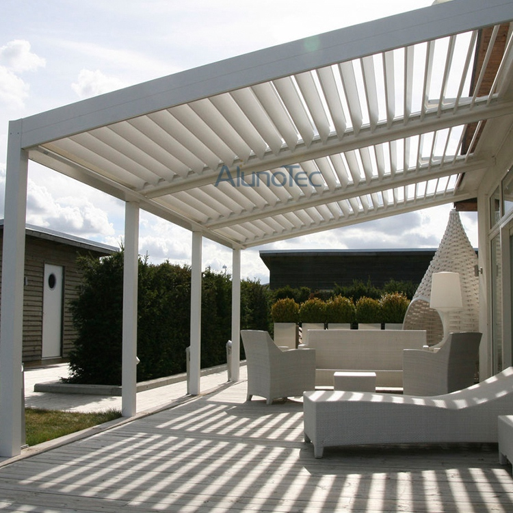 Charmant Motorized And Waterproof Garden Deck Pergola Louvre System
