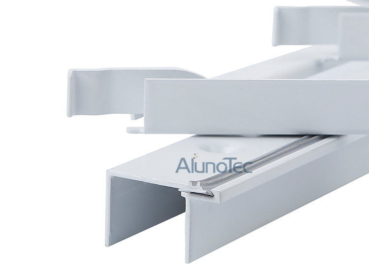 Durable Aluminium Louvres Models With Dual Controls