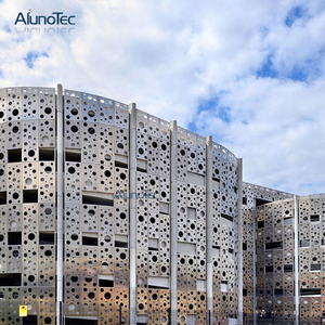 Alunotec Laser Cut Aluminium Composite Sheet For Walls