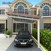 Outdoor Terrrace Garden Roof Cover Garage Carport with Polycarbonate Roof