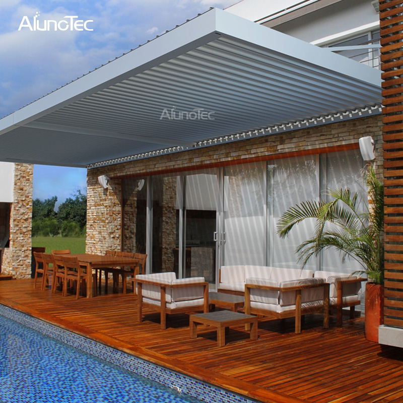 Heart Touching Ideas Of Gazebo Roof Or Cover: Outdoor Shade Gazebo Retractable Pergola Cover For