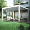 Aluminium Pergola Bioclimatic Louvered Roof Gazebo Kits For Outdoor Living Space