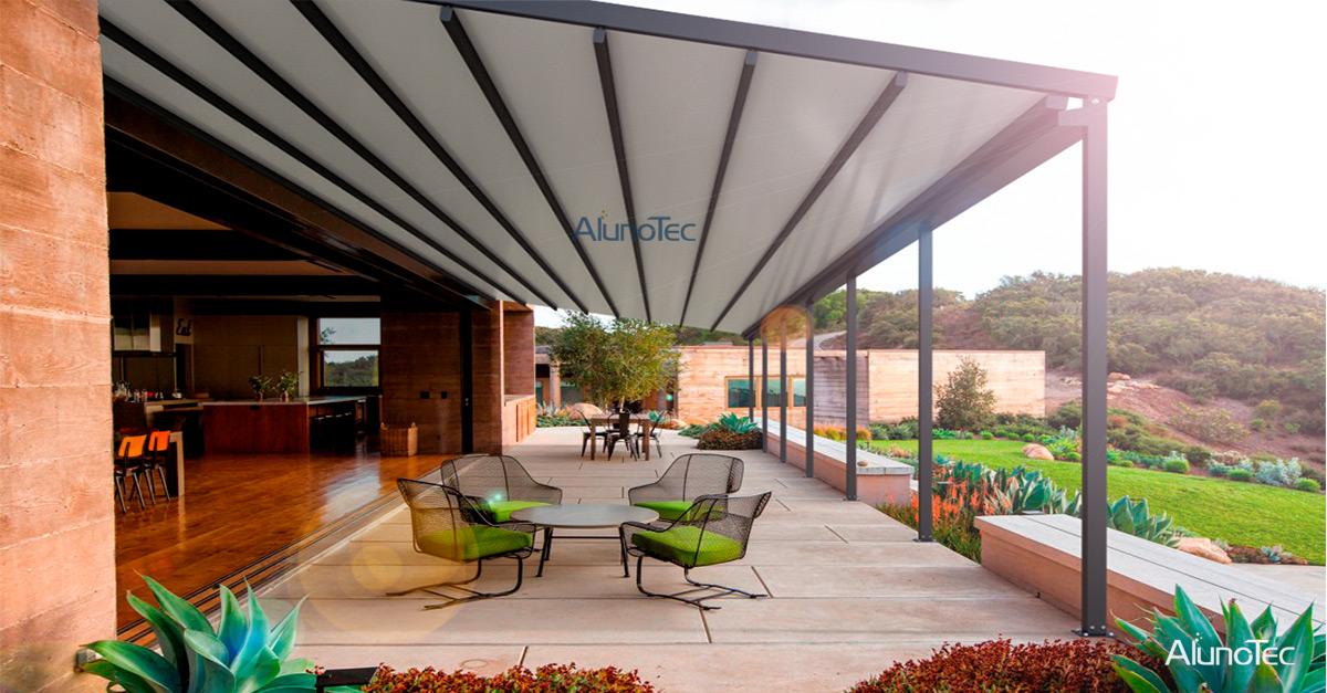 Modern Patio Roof Ideas Aluminum Pergola Alunotec