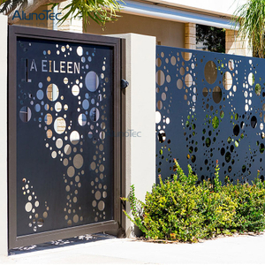High Quality Aluminum Decorative Garden Fence For Outdoor Living