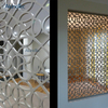 Aluminum Decoration Mesh Panel Aluminium Frame Partition Used for Indoor
