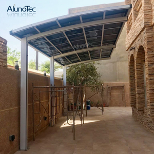 Alunotec Single Carport Garages Shelter for Parking Lot