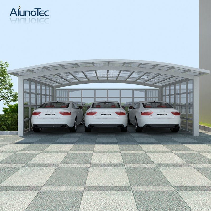 Most Popular Aluminium Roof Free Standing M Style Carports for Sale