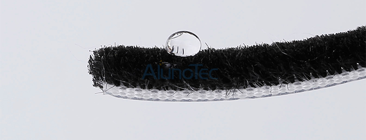 Brush Wool Pile Weather Strip For Windows
