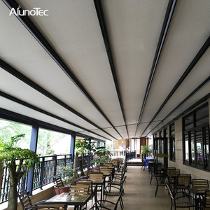 China Wholesale Opening Retractable Canopy Waterproof Aluminum Retractable Roof Awning