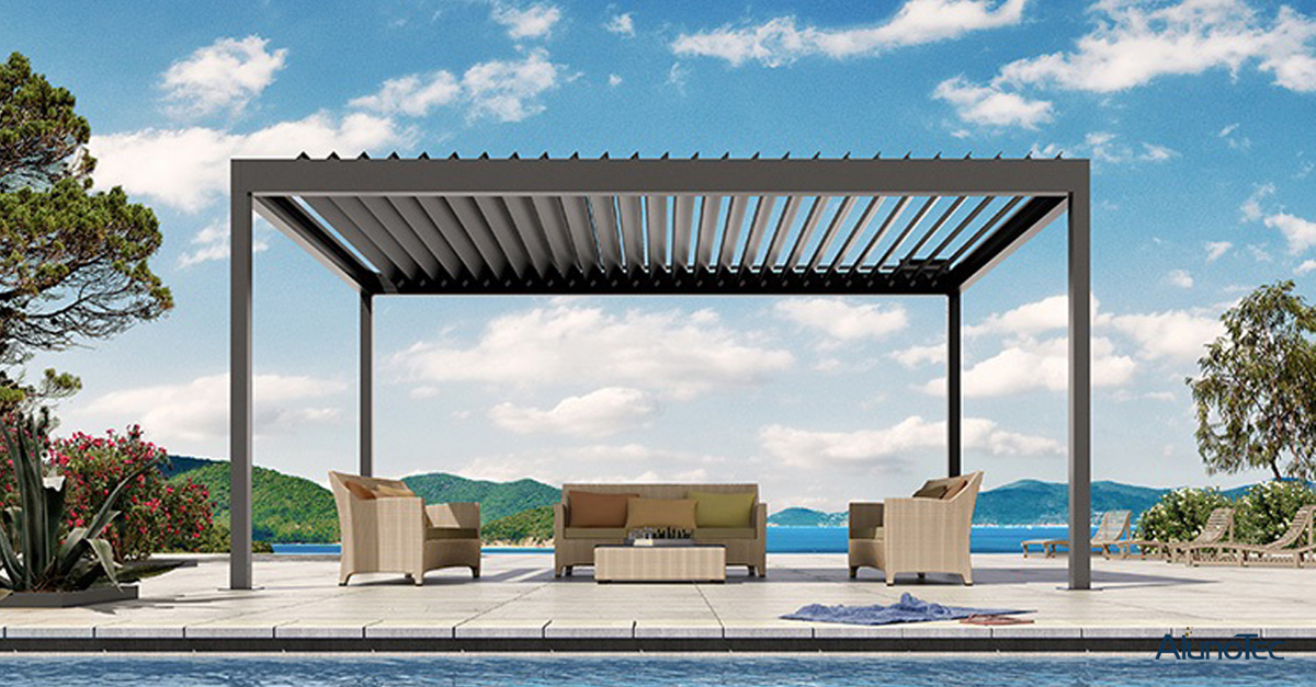 Upgrade Your Outdoor Living Space with Retractable Roof Pergola.