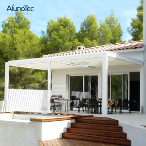 Electric Aluminium Pergolas Outdoor Metal Aluminium Pergola