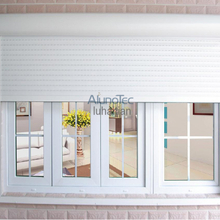 Exterior Motorized Roller Shutter for Window