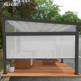 Waterproof Pergola Electric Gazebo 6m Retractable Awning For Patio