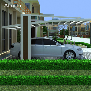 Modern Design Garage Type Aluminium Car Shelter For High Grade Easy DIY Home Carport