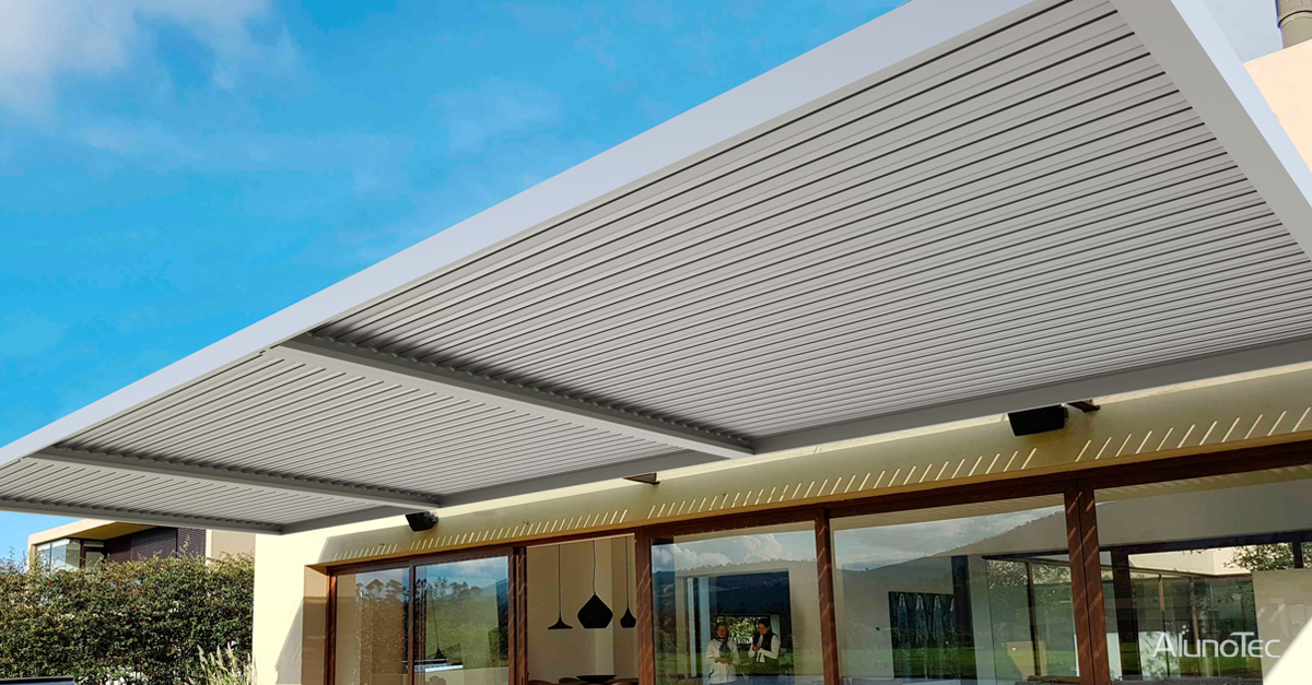 Garden Adjustable Louver Roof System