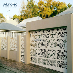 New Design Hollow-Out Aluminum Privacy Screen Use For Garden Decoration