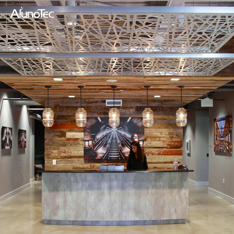Alunotec Suspended Aluminum Ceiling Tile For Hotel