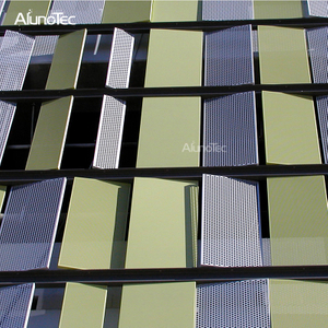 China High Quality Aluminium Hollow-Out Wall Cladding For Decoration