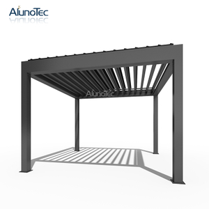 China Supplier Diy Pergola Bioclimatic Aluminium Pergola