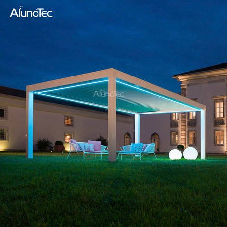 Direct Factory Waterproof Aluminium Outdoor Pergola For Patio