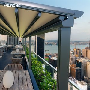 New Design Electric Folding Retractable Shade For Decking