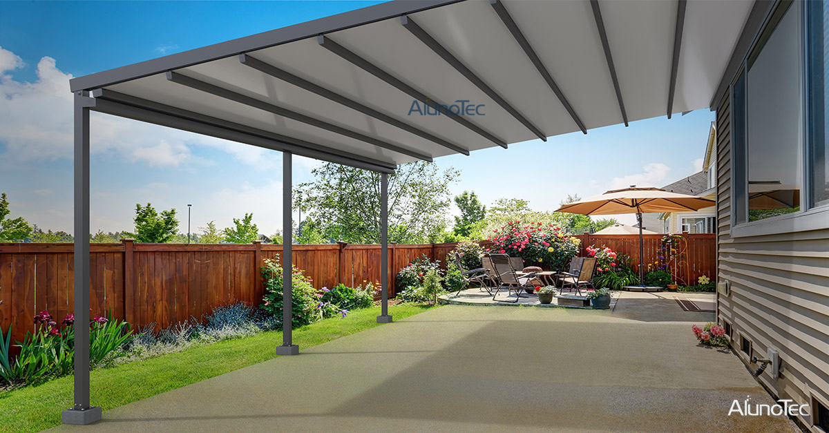 A Retractable System can suitable large outdoor area