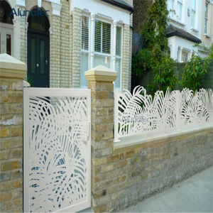 Factory Wholesale Aluminum Garden Fence Panel