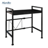 Standing Rack Kitchen Stainless Steel Storage Rack Microwave Oven Shelf