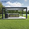 Professional Cheap Powder Coating Shade Pergolas Roof For Outdoor