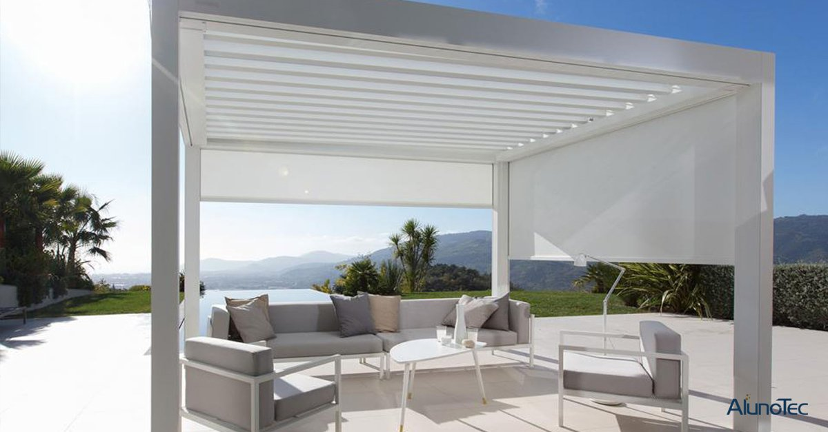 AlunoTec Pergola System Introduction