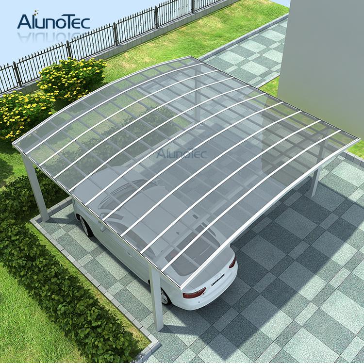Modern Aluminum Polycarbonate Carport Car Shelter - Buy ...