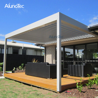 Self-supporting Waterproof Gazebo Aluminium Retractable Pergolas