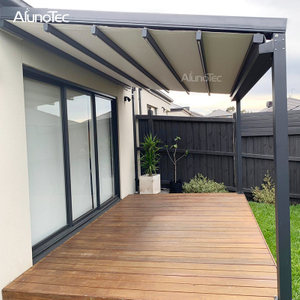 Opening Closing Electric Outdoor Retractable Awnings