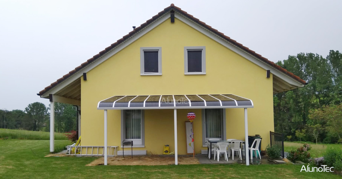 Ply carbonate Awning