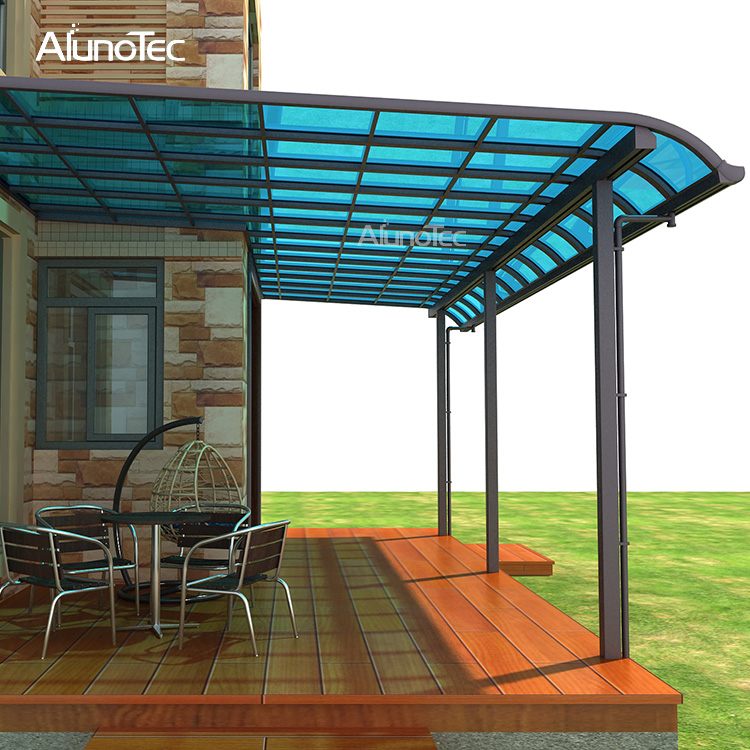 Polycarbonate Patio Cover for Outdoor Sun Rain Protection