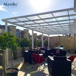 Sunblock Polycarbonate Cover Outdoor Awning Balcony Terrace Roof Cantilever Window Canopy