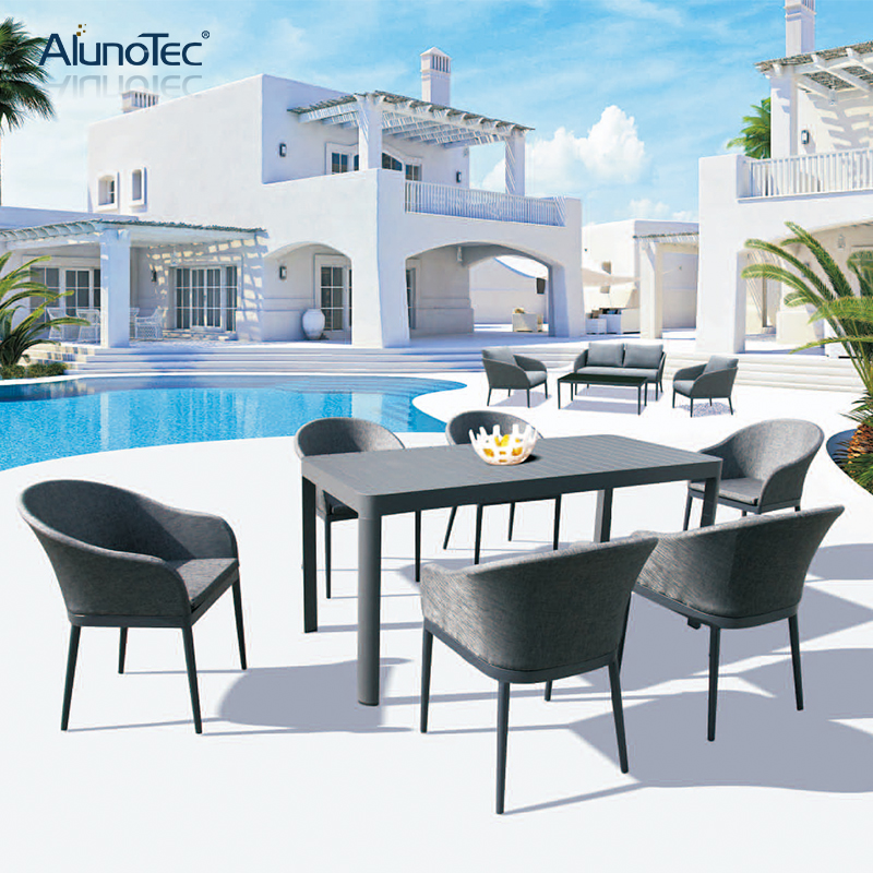 Modern Outdoor Patio Set Dining Furniture Garden Leisure
