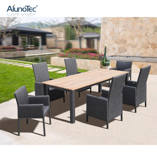 Outdoor Aluminium Patio Dining Set Garden Furniture Dining Sets