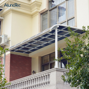 Factory Price Polycarbonate Awning Canopy Aluminum Patio Roof for Backyard