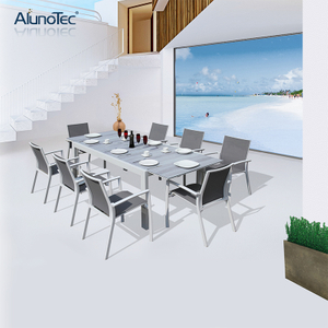 Outdoor Patio Dining Furniture Set Extension Tables Garden Dining Sets