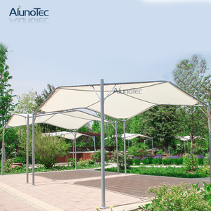 Garden Aluminum Patio Awning Sun Block Roof Fabric Shade Canopy