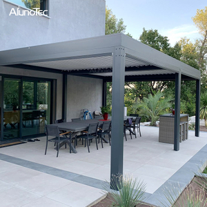 Aluminum Operable Pergola 3x4 Gazebo Aluminum Louver Pergola For Home