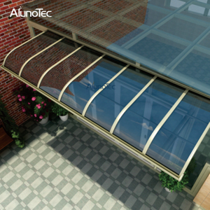 China Waterproof Aluminum Canopy Patio Roof for Window Balcony Patio Cover Outdoor