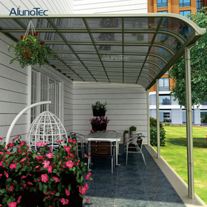 China Sun Shade Polycarbonate Front Door Canopy Patio Awning