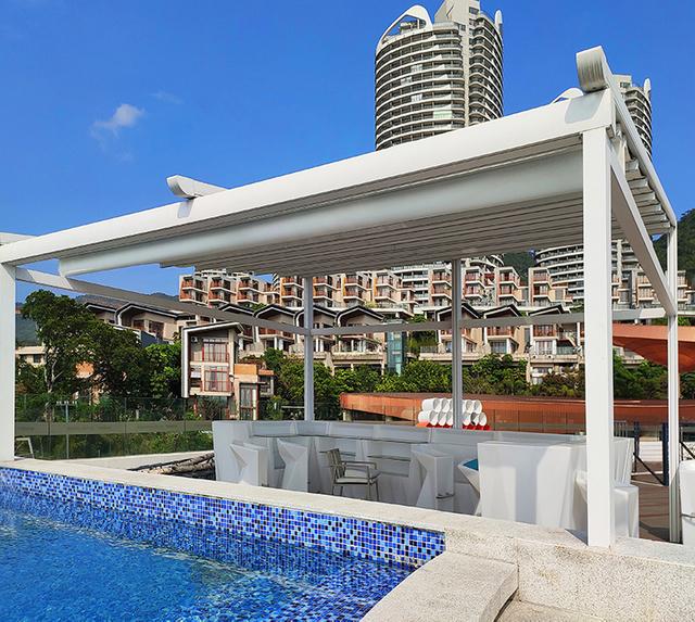 Retractable Roof - Aluminum Pergola-AlunoTec