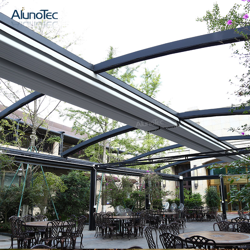 Best Selling Pefect Awning Motorized PVC Roof For Patio Shading