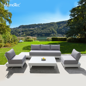Stylish Outdoor Garden Furniture Lounge Sectional Upholstery Patio Sofa Sets