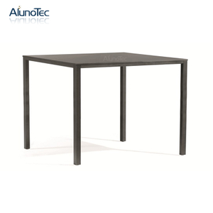 Nordic Style Metal Furniture Square Dinning Table