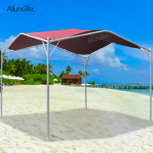 Hot Sale Waterproof Outdoor Polyester Fabric Canopy Awning for Seaside