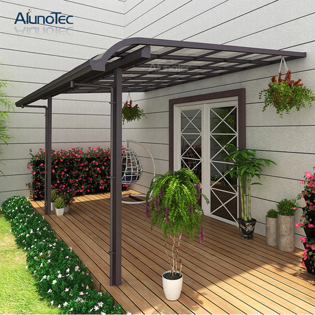 Garden Shading Patio Terrace Roof Awning Gazebo For Wholesale